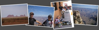 Visa Grand Canyon och Monument Valley